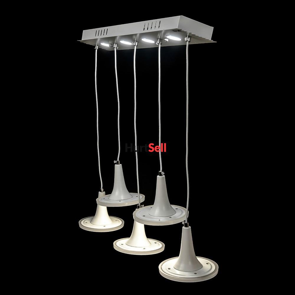 Ozdobna Sufitowa Lampa Wisząca Led żyrandol Dwie Barwy